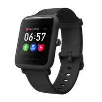 Amazfit 華米 米動青春版3 Bip S Lite 超輕薄健康運動心率智慧手錶-魅力黑