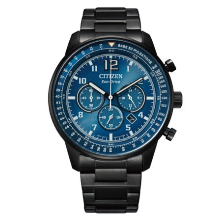 CITIZEN星辰 Chronograph系列 光動能計時腕錶