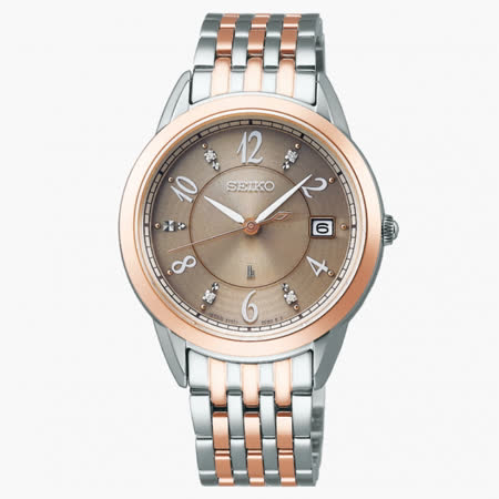 SEIKO精工 LUKIA系列 太陽能腕錶