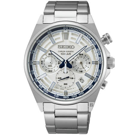 SEIKO 精工 CS 140週年限量 三眼計時手錶