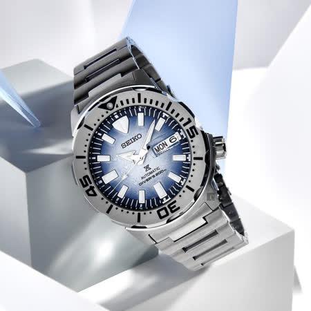 SEIKO精工 Prospex 愛海洋 企鵝漫步 200米潛水機械錶