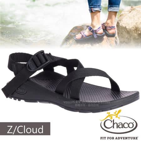 美國 Chaco 女 Z/CLOUD 越野紓壓運動涼鞋(標準款)