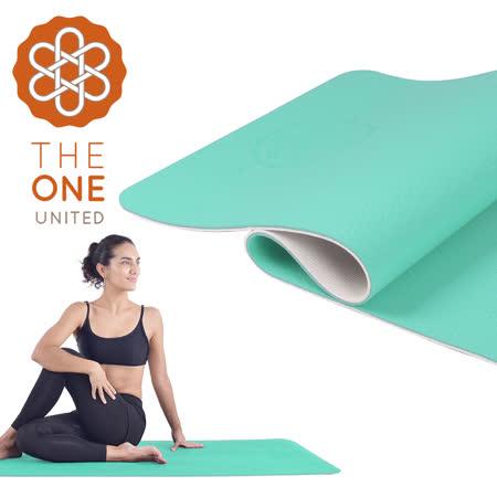 【APP限定】【The One】環保TPE雙色瑜珈墊 6mm