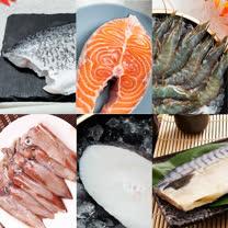 【海撰嚴選】優質海鮮6品組合箱
