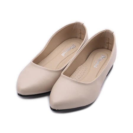 MATERIAL 女 小尖頭素面低跟鞋