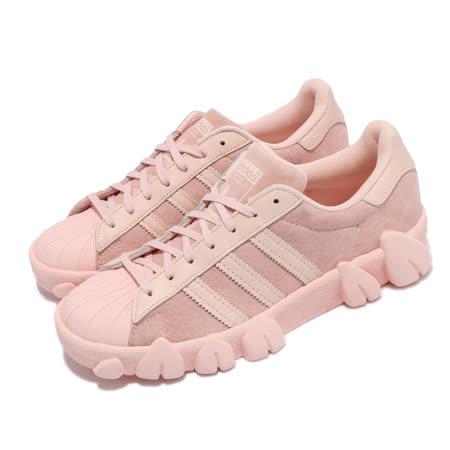adidas 女休閒鞋  Superstar80s AC 海外限定