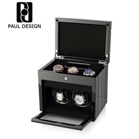 英國保羅 PAUL DESIGN 手錶自動上鍊盒 大錶專用 2+3支裝 LED燈