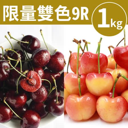 9Row 華盛頓雙色櫻桃1kg