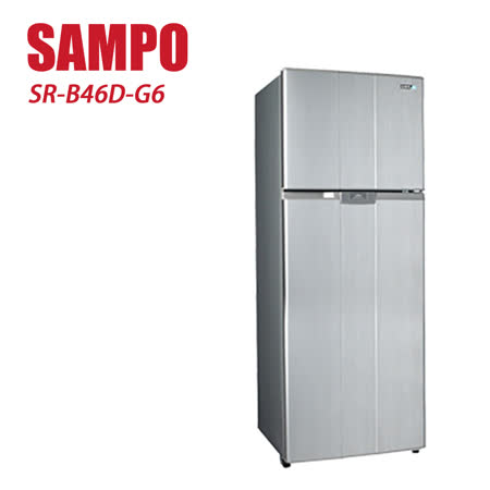 SAMPO 聲寶 460L 雙門變頻冰箱 SR-B46D