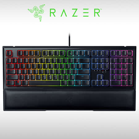 RAZER 雨林狼蛛 V2  機械式薄膜混合電競鍵盤