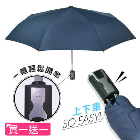 2mm 第三代通勤 加固抗風自動開收傘