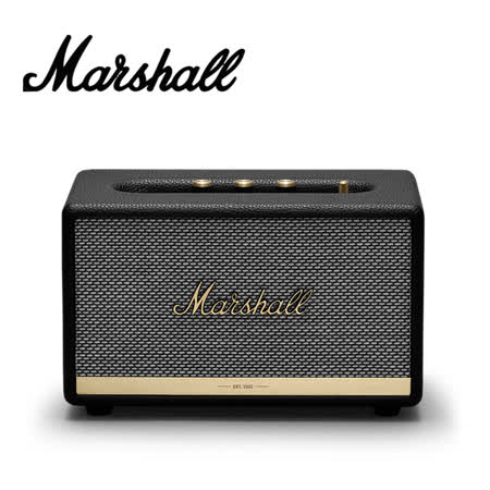 Marshall Acton II Bluetooth 藍牙喇叭-經典黑