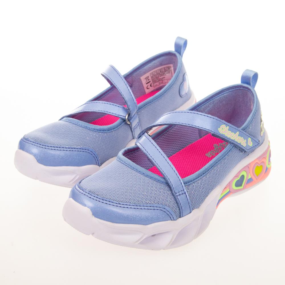 SKECHERS 女童系列 SWEETHEART LIGHTS 燈鞋 - 302303LPERI