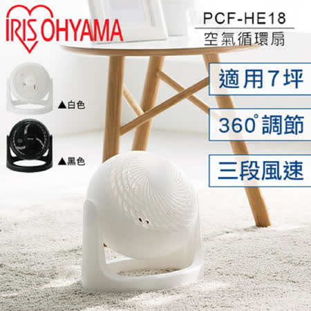 IRIS PCF-HE18  空氣對流循環扇