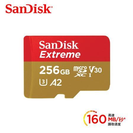 SanDisk microSDXC 256G 記憶卡