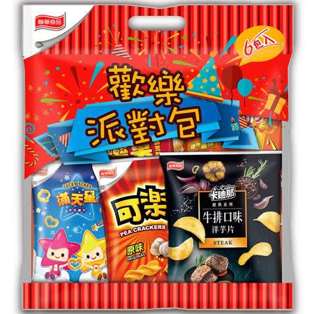 【聯華食品】 休閒綜合量販包(6包)