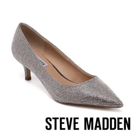 STEVE MADDEN 時尚亮鑽派對中跟女鞋