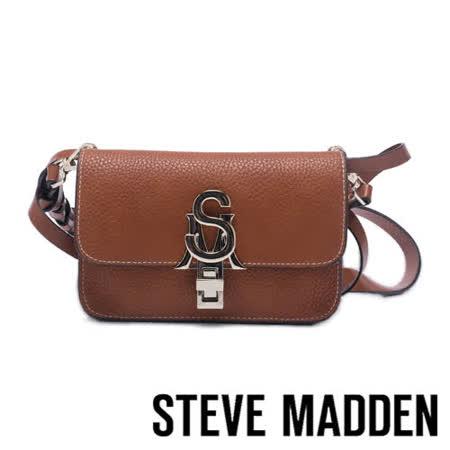 STEVE MADDEN 皮革金屬扣信封包