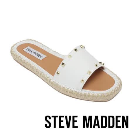 STEVE MADDEN 平底編織涼鞋