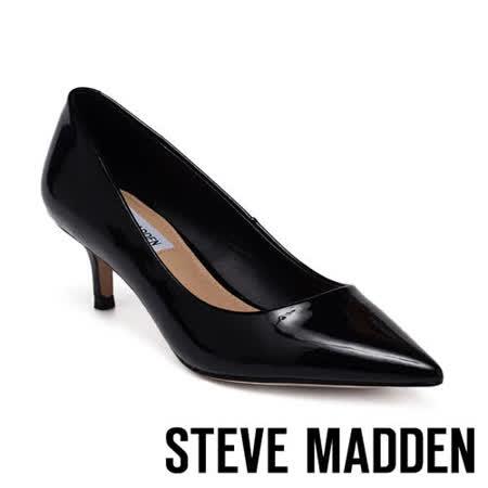 STEVE MADDEN 皮質尖頭中跟女鞋