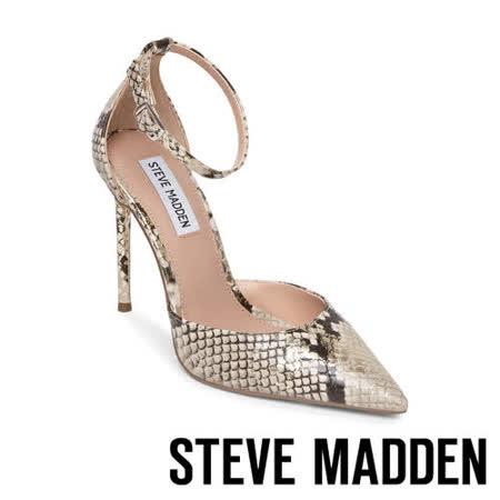STEVE MADDEN 繞踝尖頭細跟高跟女鞋