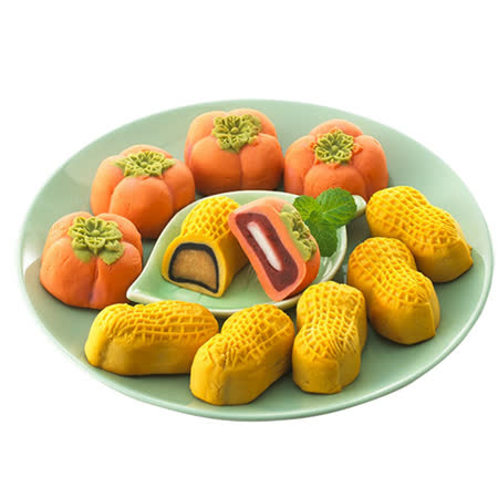 【久久津】 好柿會花生造型禮盒