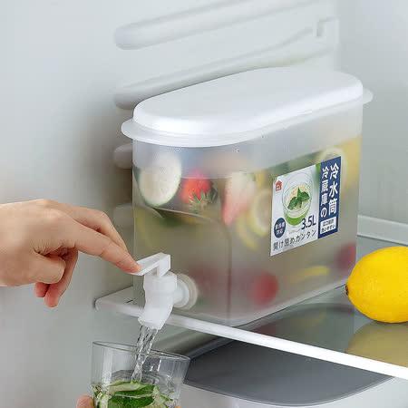 防漏龍頭食品級PP 冰箱冷水壺2入組