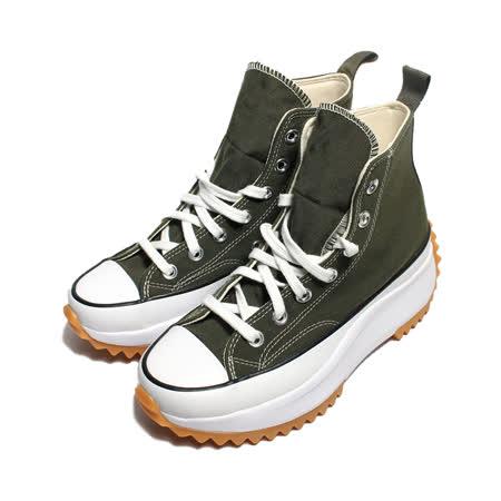 CONVERSE  女款焦糖底增高帆布鞋