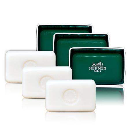 愛馬仕 HERMES  橘綠之泉香皂 50gX3 (含盒)