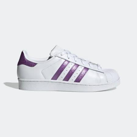 adidas SUPERSTAR 貝殼鞋頭女復古鞋