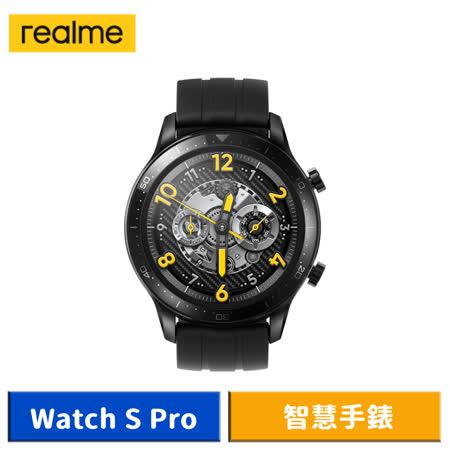 realme Watch S Pro 智慧手錶 黑