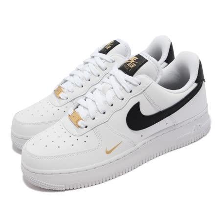 NIKE Air Force 1 小金勾女款復古休閒鞋