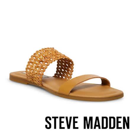 STEVE MADDEN 簍空雙帶涼拖鞋