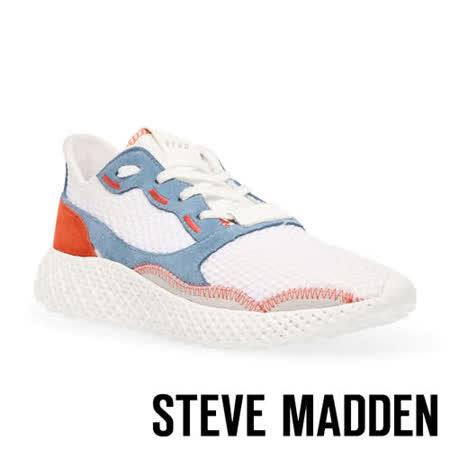 STEVE MADDEN 拚色顯高運動休閒女鞋