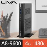 精英系列【mini小說】A8 9600四核 迷你電腦(4G/480G SSD)《A320》
