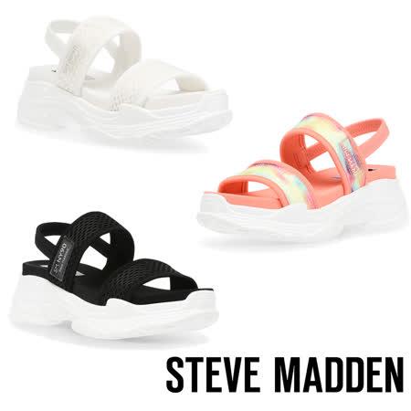 STEVE MADDEN 彈性厚底透氣休閒涼鞋