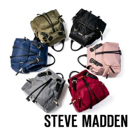 STEVE MADDEN 超大容量軍旅後背包