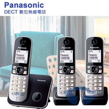Panasonic 國際牌DECT 節能數位無線電話1主+2子