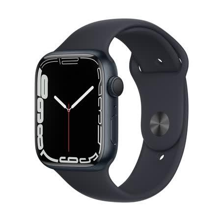Apple Watch S7 (GPS) 45mm - 午夜色(MKN53TA/A)