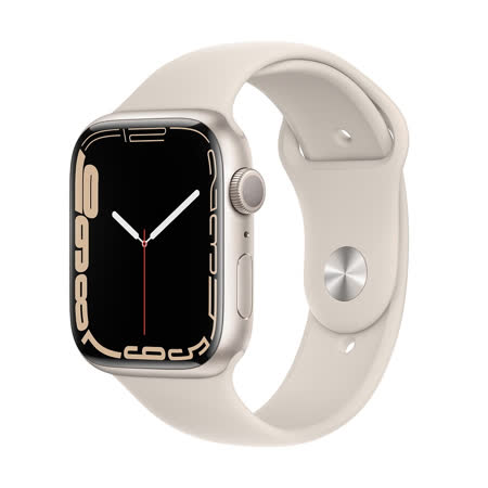 Apple Watch S7 (GPS) 45mm - 星光色(MKN63TA/A)