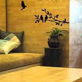 【ECO World 】進口壁貼-樹與鳥2