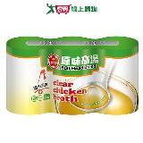 牛頭牌原味高湯-雞汁411g*3入