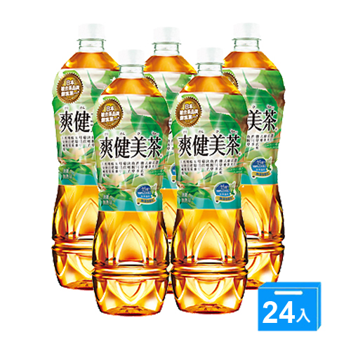 可口可樂爽健美茶535ml*24入