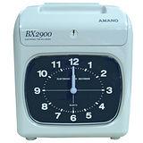 日本 AMANO 6欄位電子式打卡鐘(BX2900)