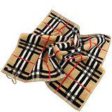 BURBERRY 英國倫敦黑標厚織格紋毛巾BURo174