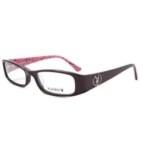 PLAYBOY-時尚光學眼鏡 (共黑.深紫紅2色)PB85112