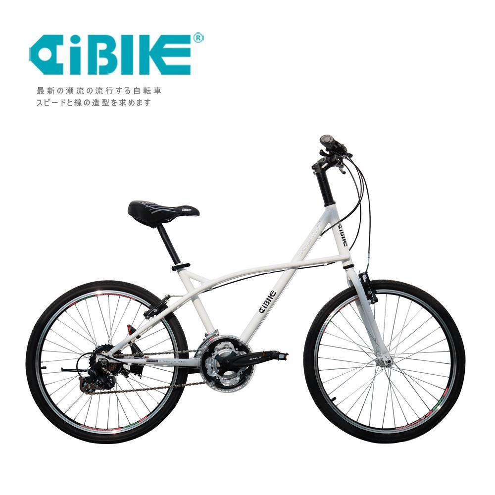 AiBIKE SHIMANO 24吋24速 大海豚小徑車