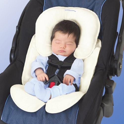 美國 Summer Infant 寶寶車用柔軟保護墊-象牙色