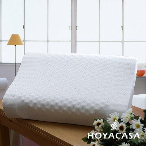HOYACASA 健康按摩天然乳膠枕
