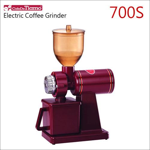 Tiamo 700S 義式半磅磨豆機(紅色) HG0418